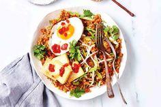 Vegetable and tofu nasi goreng