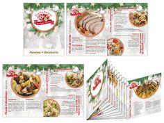 Empresas de Diseño Gráfico. Recetario para una empresa de productos alimenticios. Salchichas y Jamones