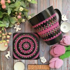 Which one is your favorite from Dot Art Painting, Mandala Painting, Pottery Painting, Ceramic Painting, Bottle Painting, Bottle Art, Bottle Crafts, Hand Painted Mugs, Mug Art