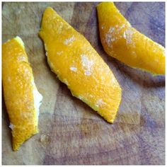 The Everyday Michelle: What To Do With Orange Peels: Part 2