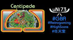 Centipede (1980/2002, Atari) - Nintendo GBA - Score 22827
