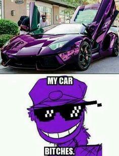 Purple car!? You mean PURPLE (GUY'S) CAR!!!!! #hiscar