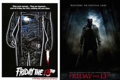 Post with 28 votes and 13 views. Original Movie posters with their modern remakes Horror Movie Posters, Original Movie Posters, Film Posters, Scary Films, Classic Horror Movies, Movie Facts, Friday The 13th, Good Movies, The Originals