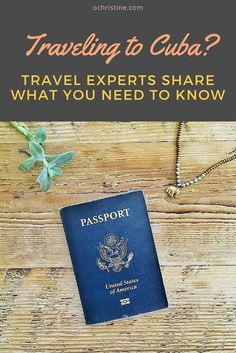 Take heed from top travel experts and bloggers and find out all the  information you need to visit Cuba! Enjoy :-)