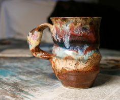altered earthy mug
