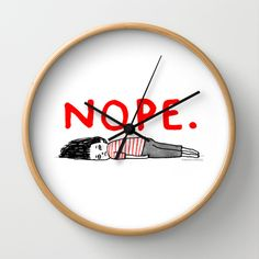 That January Feeling by gemma correll as a high quality Wall Clock. Free Worldwide Shipping available at Society6.com from 11/26/14 thru 12/14/14. Just one of millions of products available.