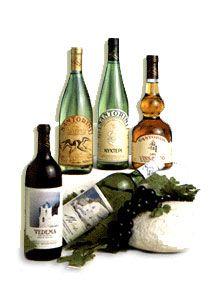 Santorini Wines and their origin.