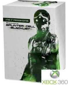 Tom Clancy's Splinter Cell: Blacklist - 5th Freedom Edition (XBOX360) Splinter Cell Blacklist, Tom Clancy's Splinter Cell, Ps3, Playstation, Xbox 360 Games, Freedom, Toms, Microsoft, Liberty