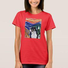 Funny Kitty Scream Cat T-Shirt