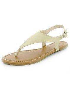 Sandálias pé descalço em camurça                                                     bleu Mulher do 34 até 48   - Kiabi