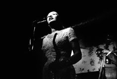 Backstage With Billie Holiday:   While Billie Holiday's short life was filled with hardship, Jerry Dantzic documented not the tragic torch singer of myth but a middle-aged woman finding simple comforts from the maelstrom.