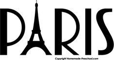 Eiffel Tower Clip Art - cut out in vintage scrapbook paper Eiffel Tower Clip Art, Eiffel Tower Painting, Paris Eiffel Tower, Paris Birthday Parties, Paris Party, Paris Theme, Silhouette Clip Art, Silhouette Cameo Projects, Thema Paris