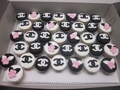 chanel cupcakes | Tumblr