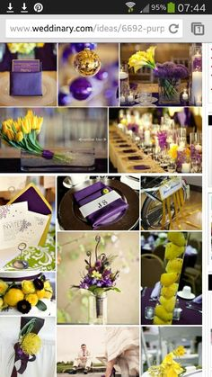 I Love This Look For Centerpieces Too A Simple Pretty Clean September To Remeber Pinterest Purple Wedding And Weddings