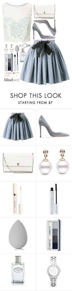 """we had a special dinner"" by keziatmrskasrf ❤ liked on Polyvore featuring Miu Miu, Gianvito Rossi, Valextra, 100% Pure, beautyblender, Clinique, Prada, Christian Dior and Miss Selfridge"