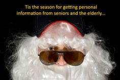Protecting our seniors and elderly from scammers during the holidays!