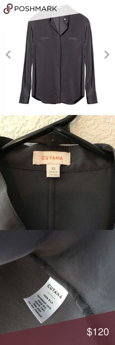 Cuyana Dolman sleeve silk shirt XS Great condition! Only worn a couple of times and recently dry cleaned. Cuyana Tops Blouses