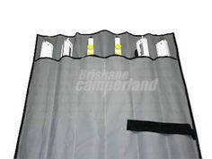 ANTI FLAP KIT STORAGE BAG For easy compact storage of your Anti Flap Kit this quality Australian Made canvas storage bag is the solution for stowing those slightly hazardous if packed incorrectly antiflap poles.