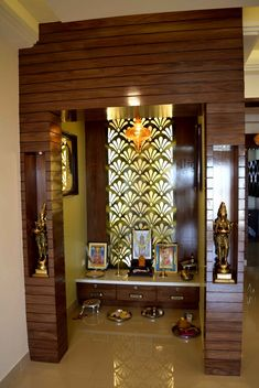 Pooja room design Acne: Laser, a good therapy for acne without side effects Article Body: Laser appe Pooja Room Door Design, Door Design Interior, Home Room Design, Village House Design, Bungalow House Design, Design Your Dream House, Temple Room, Temple Design For Home, India Home Decor