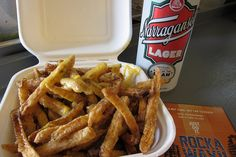 Rippers Cheese Fries by nycblondieandbrownie, via Flickr