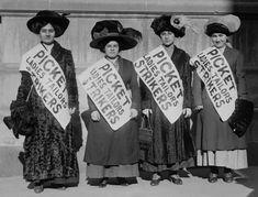 picket ladies tailors strikers