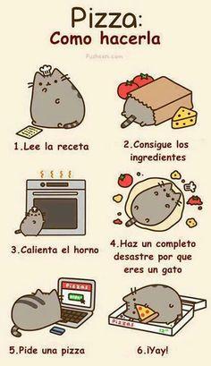 Pizza: cómo hacerla. #humor #risa #graciosas #chistosas #divertidas