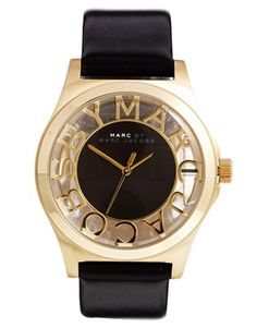 CurvyMarket - Marc By Marc Jacobs Henry Skeleton Black Watch from Asos