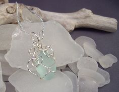 How to Wire-Wrap Beach Glass