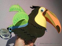 como hacer una marioneta de tucan - Buscar con Google