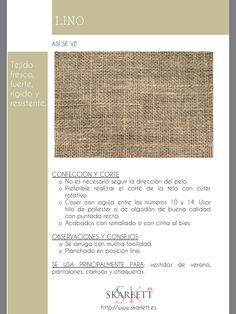 El dossier de las telas Skarlett Sewing Hacks, Sewing Projects, Fashion Terms, Fashion Dictionary, Textile Texture, Janome, How To Dye Fabric, Fashion Fabric, Shibori