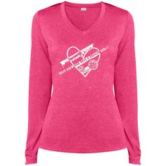 Do you love soccer? You're going to love our shirts!  Keep Calm and Date A Soccer Girl - Ladies LS Heather Dri-Fit V-Neck Tee - $29.99
