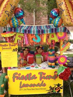 Eden & Genevieve Jimenez trying to uphold their title from 2011 Lemonade Day as place best stand winners. Kids Lemonade Stands, Ronald Mcdonald House, Radio Flyer, Houston Tx, Teaching Kids, A Table, Goal, Christmas Bulbs, Parenting