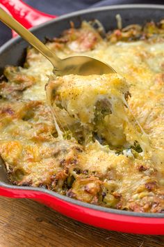 Cheesy Brussels Sprout Casserole:  A lot of people are skeptical about brussels sprouts, and there are few who would say that they are avid fans of the veggie. But with this dish, you'll find yourself sold in absolutely no time, mostly because it doesn't really matter what's underneath when there's cheese involved. - Delish.com
