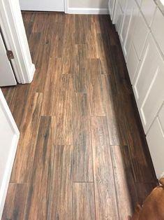 LV: our master bath grout w/portwood montagna marazzi glazed porcelain floor tile Hardwood Tile, Tile Floor, Wood Ceramic Tiles, Wood Tile Bathroom Floor, Wood Look Tile Floor, Porcelain Wood Tile Floor, Flooring, Bathroom Flooring, Ceramic Wood Tile Floor