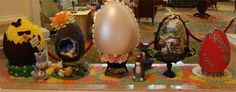 Grand Floridian Resort Chocolate Easter Egg Display – easyWDW