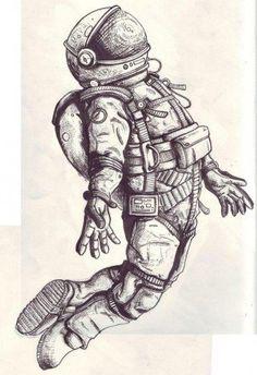 astronaut-zeichnen-dekoking-com