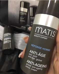 Active cream prevents and fights signs of aging. This light and liquid cream regenerates and stimulates the strengthening of the skin. Coffee Bottle, Anti Aging, Skin Care, Paris, Cream, Signs, Men, Beauty, Creme Caramel