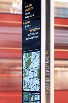 Monoliths - Legible London - Transport for London, London, England, United Kingdom - City ID
