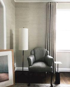 Ella Scott Design | Bethesda, MD | In Process  How to resuse Grandma's chair.  #whatsoldisnewagain #upcycle #classicstyle #refresh #interiordesign #transitionaldesign
