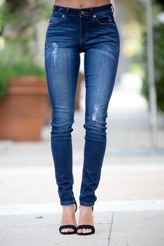 eb056e9417693 Long Story Short Mid Rise Dark Wash Kan Can Jeans - Simply Me Boutique –  Simply Me Boutique