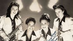 A talented swing ensemble, the International Sweethearts of Rhythm were also the nation& first integrated all-female band — a risky move in the era of Jim Crow. Girl Bands, Jazz Artists, Jim Crow, Women In Music, Black History Month, American History, American Women, Black Girls, Rock Bands