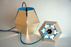 lampara de pie chapa madera - Buscar con Google