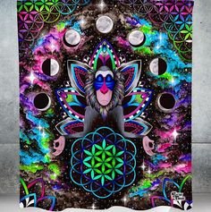 023d8d772 New Electro Wall Tapestries! Features: - HD Full-Quality Artwork by -  lightweight polyester with hand-sewn finished edges. - Extremely vivid  colors and ...