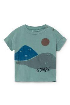 Bobo Choses Mountains Short Sleeve T-Shirt Baby