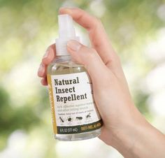 Finally, a safe and natural insect repellant using PURE essential oils! Smells amazing!