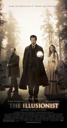 The Illusionist (2006)    One of my favourite films ever