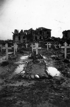 Graves of members of the 26th Battalion, New Zealand Expeditionary Force, Cassino, Italy