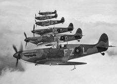 Stories of the Battle of Britain 1940 – Spitfires Join the Fighting — Battle of Britain | 1940 | history | Spitfire Mk. I