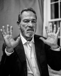 Tommy Lee Jones (1946) - American actor and film director. Photo by Rainer Hosch