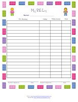 Need a little lift and nudge to make your PE record keeping more fun in your homeschool? Check out these Block Themed PE Logs today! Lego Classroom Theme, Classroom Activities, Pe Activities, Movement Activities, Pe Ideas, Gift Ideas, Pe Lessons, School Themes, School Ideas